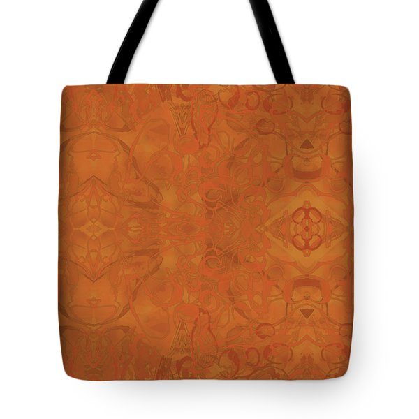 Kaleid Abstract Moroccan Tote Bag
