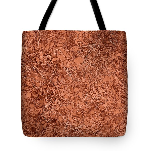 Kaleid Abstract Nest Tote Bag