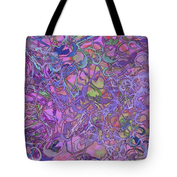 Kaleid Abstract Trip Tote Bag