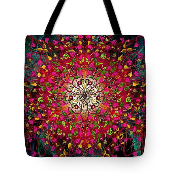 Kaleidoflower#7 Tote Bag