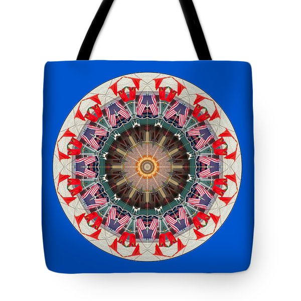 Kaleidos - Ptown07 Tote Bag by Jack Torcello