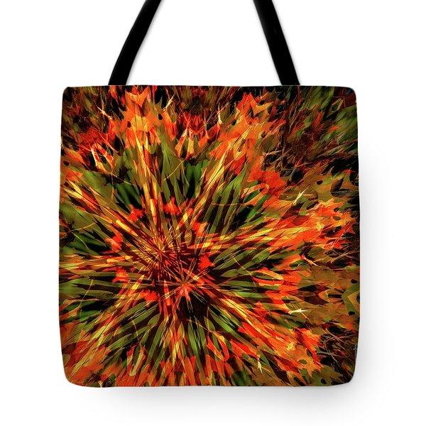 Kaleidoscope 1 Tote Bag by Jean Bernard Roussilhe