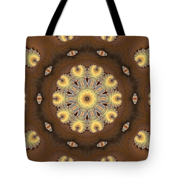 Kaleidoscope 125 Tote Bag by Ron Bissett
