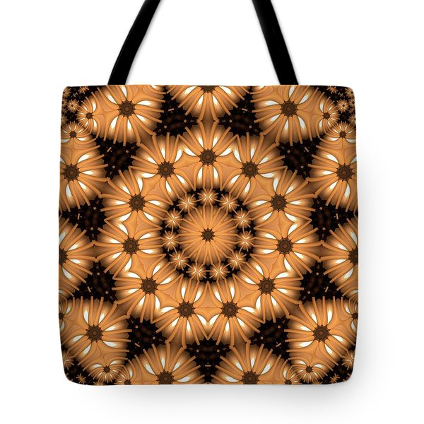 Kaleidoscope 131 Tote Bag by Ron Bissett