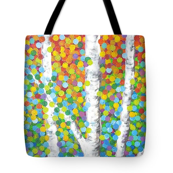 Kaleidoscope Canopy Tote Bag by Sandra Lett