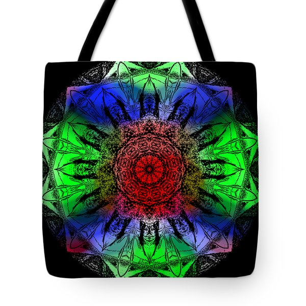 Tote Bag featuring the digital art Kaleidoscope by Deleas Kilgore