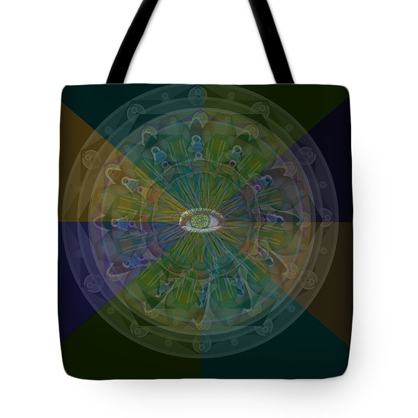 Kaleidoscope Eye Tote Bag