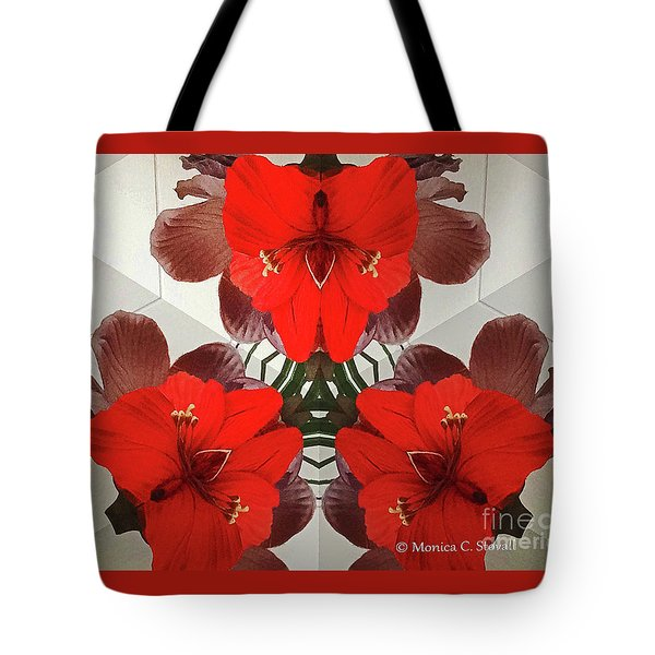 Kaleidoscope Mirror Effect M1 Tote Bag