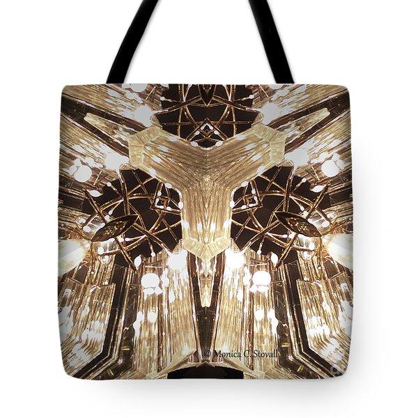 Kaleidoscope Mirror Effect M12 Tote Bag
