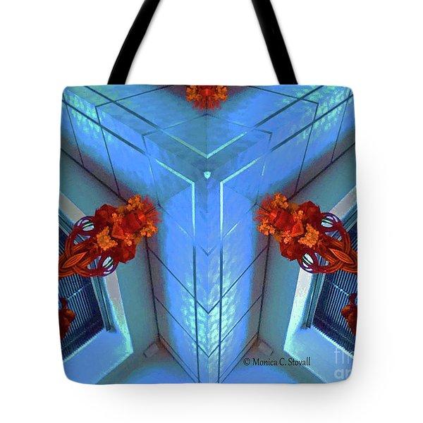 Kaleidoscope Mirror Effect M5 Tote Bag