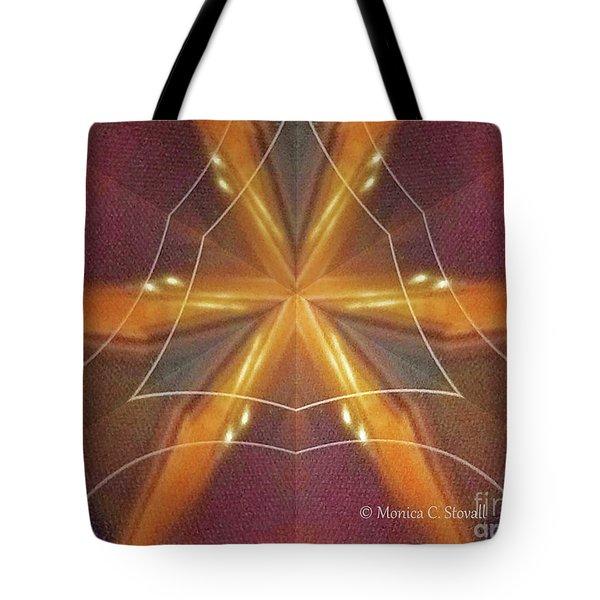 Kaleidoscope Mirror Effect M7 Tote Bag