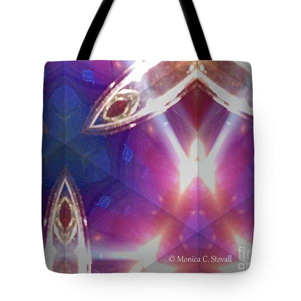 Kaleidoscope Mirror Effect M8 Tote Bag