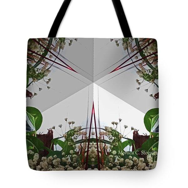 Kaleidoscope Mirror Effect M9 Tote Bag