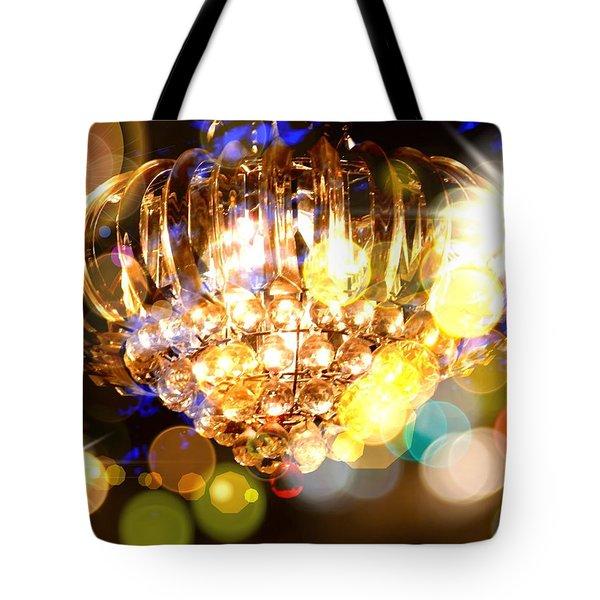 Kaleidoscope Of Light Tote Bag