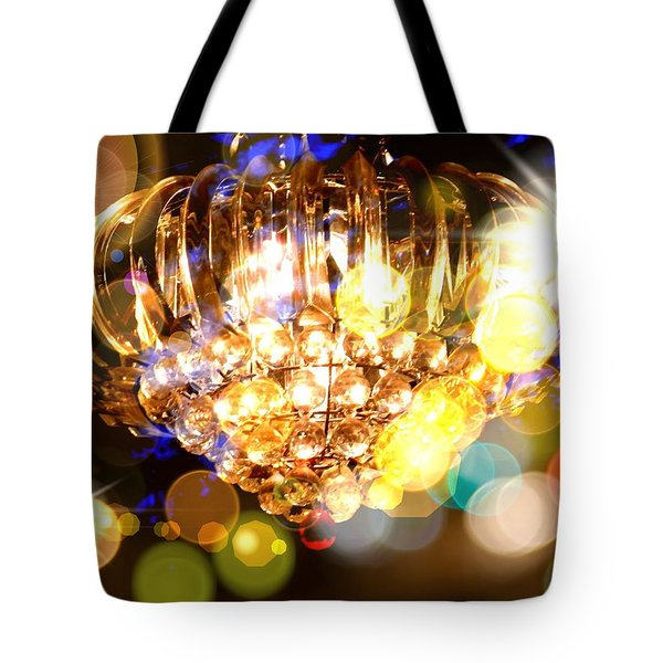 Kaleidoscope Of Light Tote Bag