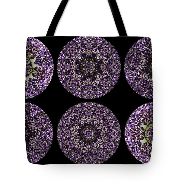 Kaleidoscope Sampler Tote Bag by Teresa Mucha