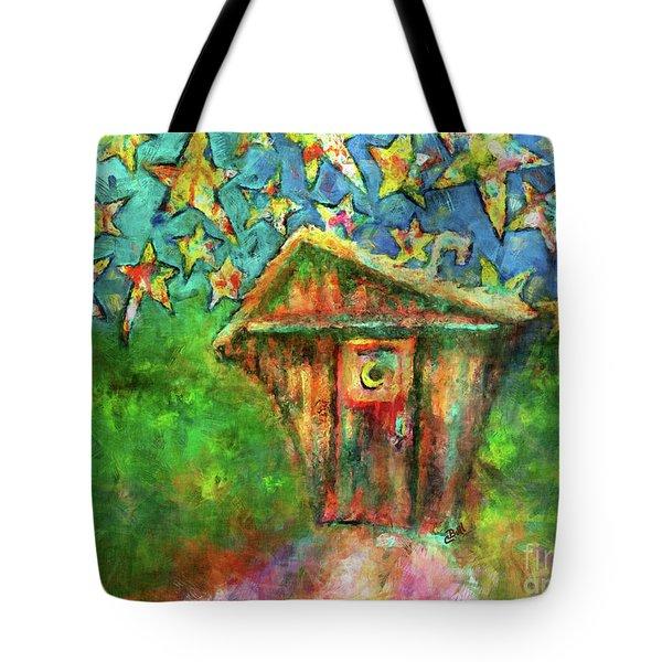 Kaleidoscope Skies Tote Bag