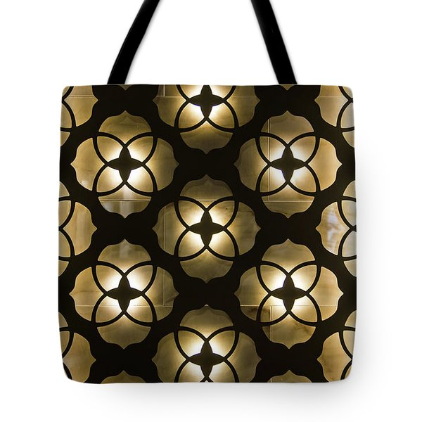 Tote Bag featuring the photograph Kaleidoscope Wall by April Reppucci
