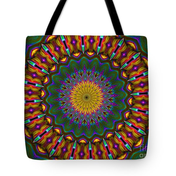Kaleidoscope Wow Tote Bag by Suzanne Handel