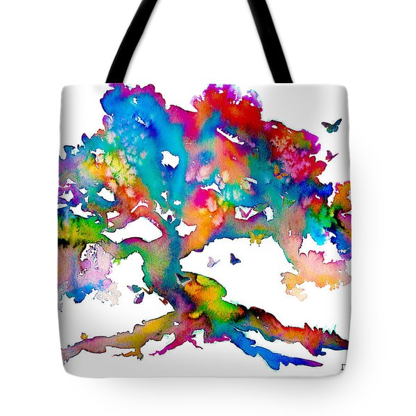 Da186 Kelly's Tree    Daniel Adams Tote Bag