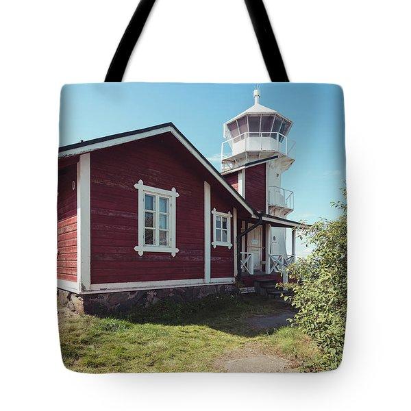Kallo Lighthouse Tote Bag