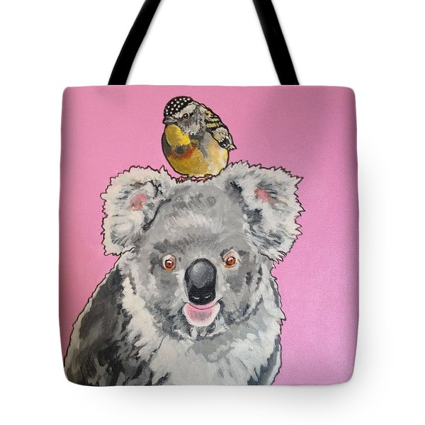 Kalman The Koala Tote Bag