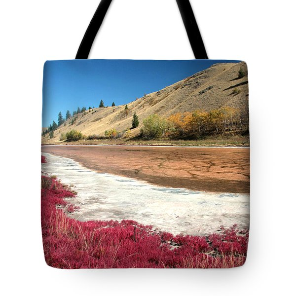 Kamloops Autumn Tote Bag