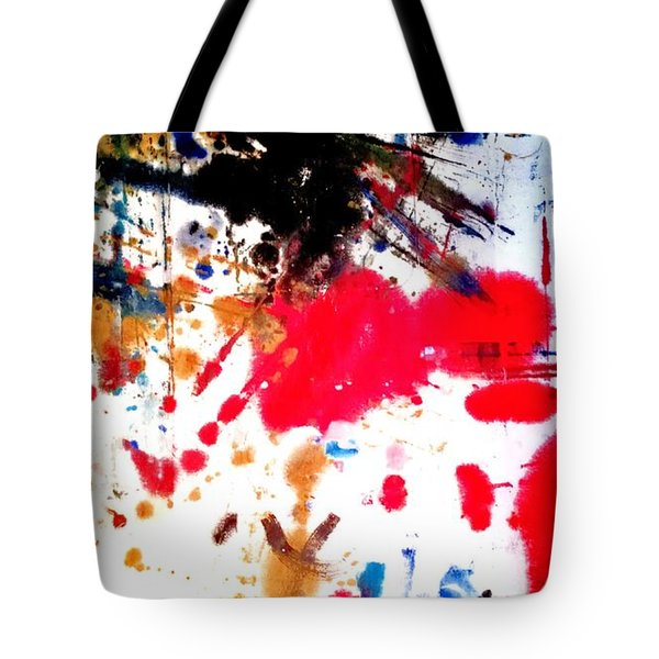 Tote Bag featuring the painting Kamor Abstract by Amy Sorrell