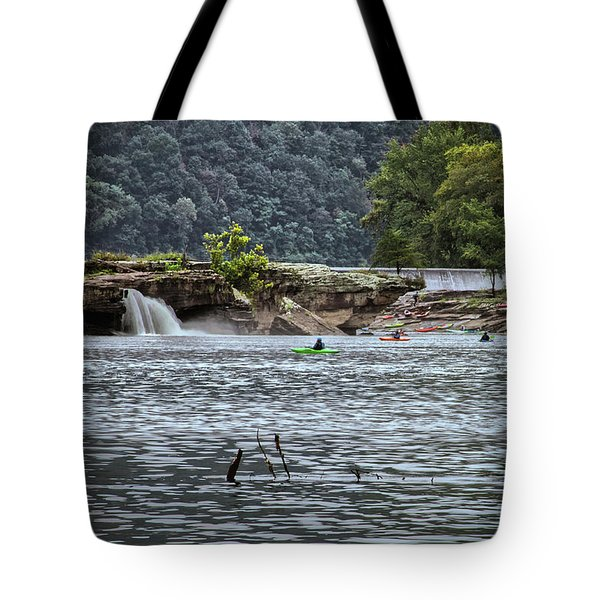 Kanahwa Falls Festival Tote Bag