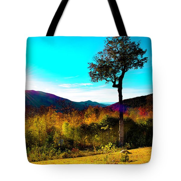 Kancamagus Sunset Tote Bag