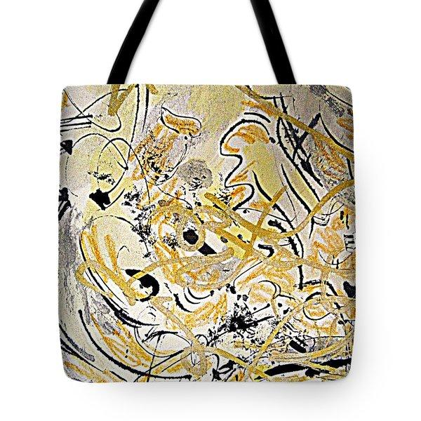 Kandinsky Echo Tote Bag by Nancy Kane Chapman