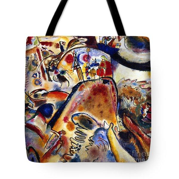 Kandinsky Small Pleasures Tote Bag by Granger