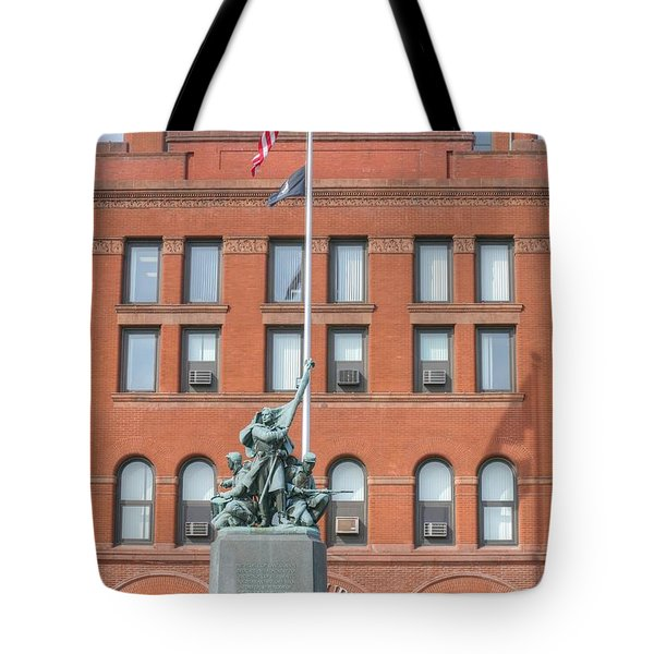 Kane County Courthouse Tote Bag by David Bearden