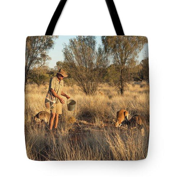 Kangaroo Sanctuary Tote Bag