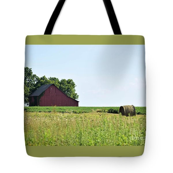 Kansas Barn Tote Bag