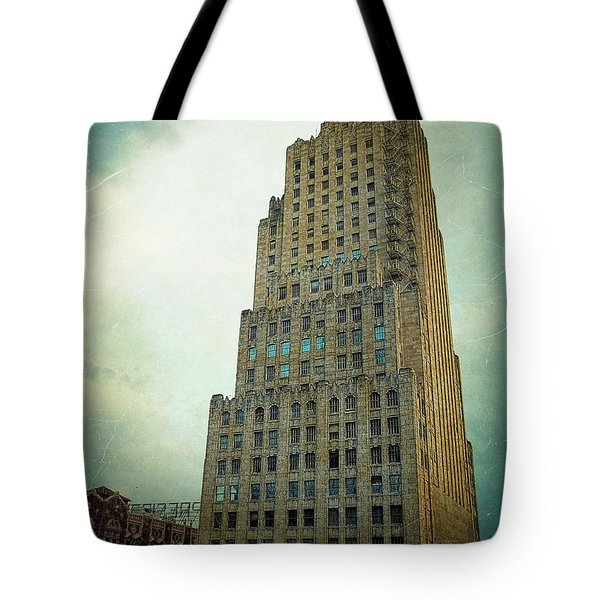 Tote Bag featuring the photograph Kansas City Gotham by Glenn McCarthy Art and Photography