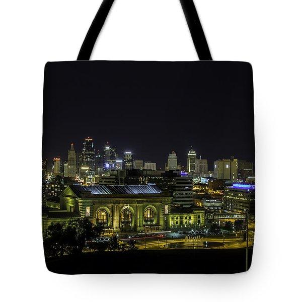 Kansas City Mo Tote Bag