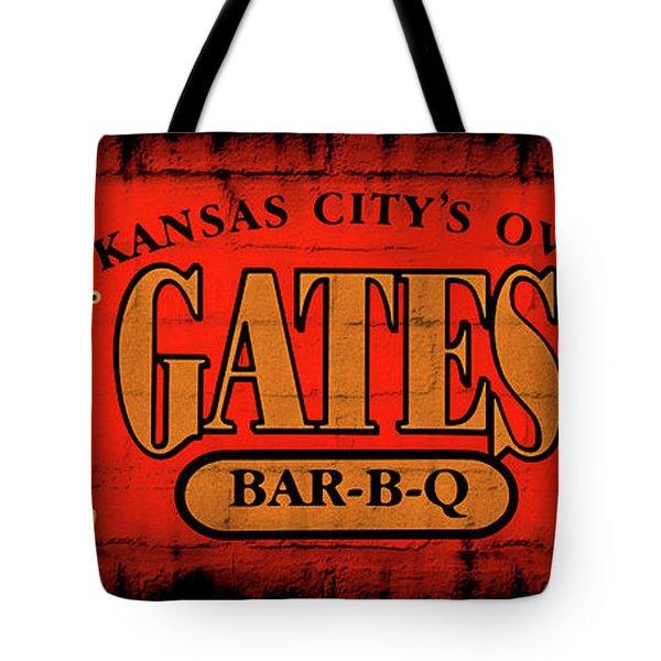 Kansas City's Own Gates Bar-b-q Tote Bag