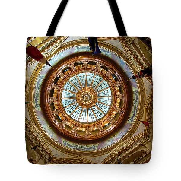 Tote Bag featuring the photograph Kansas Dome by Jim Mathis