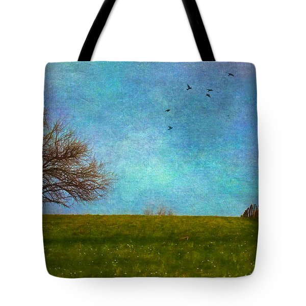 Kansas Early Spring Prairie Tote Bag