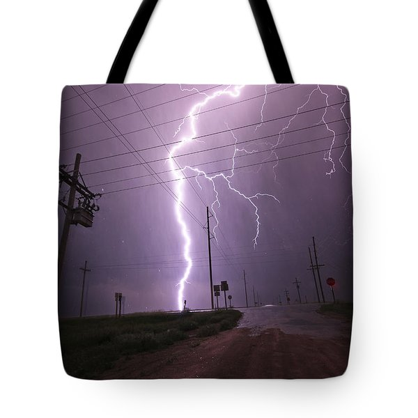 Kansas Lightning Tote Bag