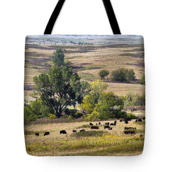 Kansas Plains  Tote Bag
