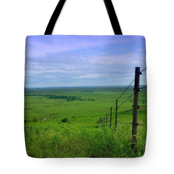 Kansas Prairie Tote Bag