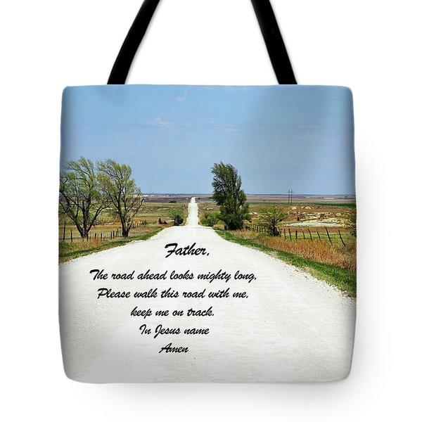 Kansas Road Tote Bag