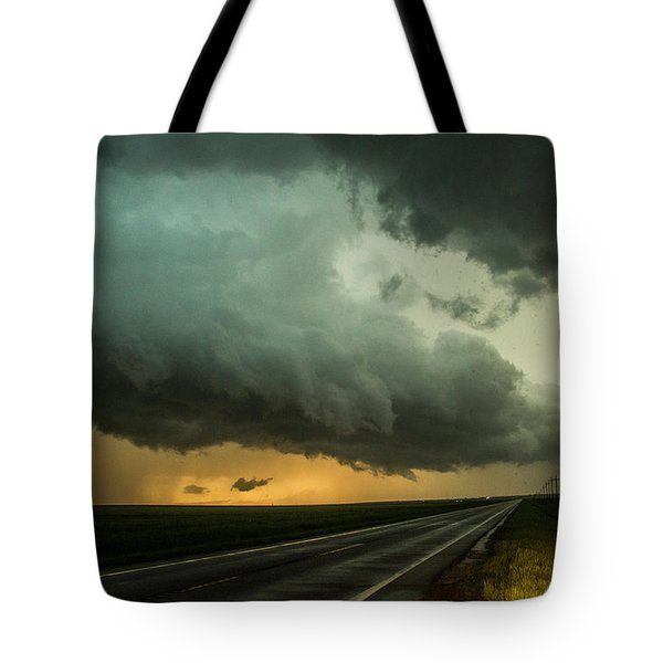 Kansas Storm Chase Bust Day 004 Tote Bag