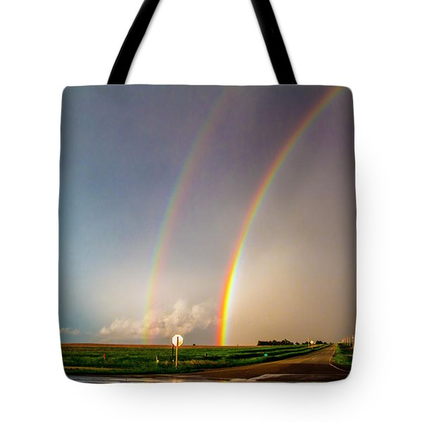 Kansas Storm Chase Bust Day 007 Tote Bag