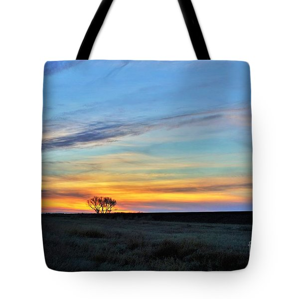 Kansas Sunrise1 Tote Bag