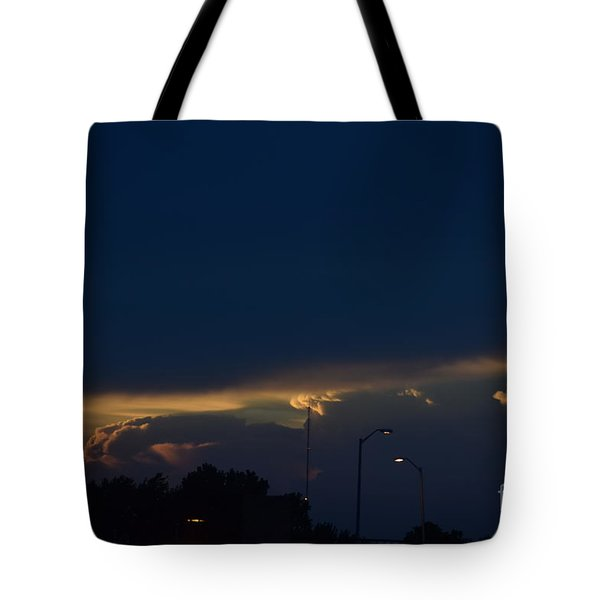 Kansas Sunset Angel Tote Bag