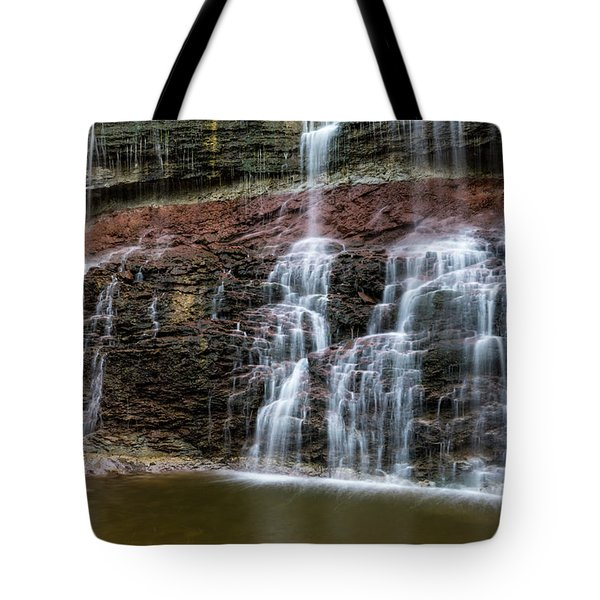 Kansas Waterfall 3 Tote Bag
