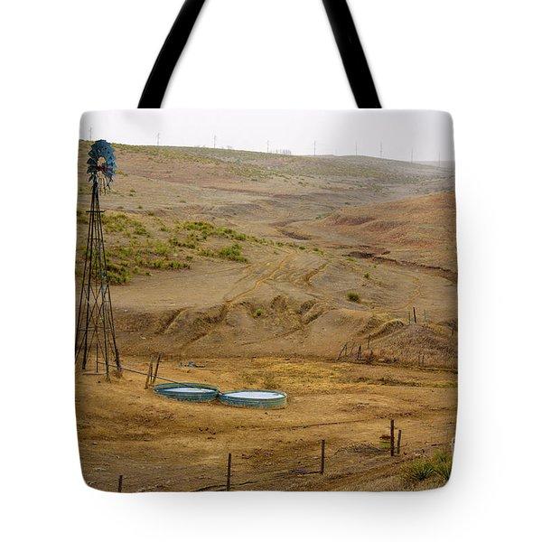 Kansas Watering Hole Tote Bag